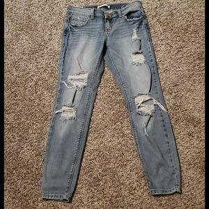 Daytrip ankle skinny jeans size 27